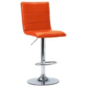 Pood24 baaritool, oranž, kunstnahk