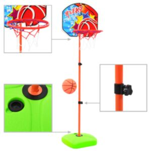 Pood24 laste korvpallirõnga ja palli komplekt