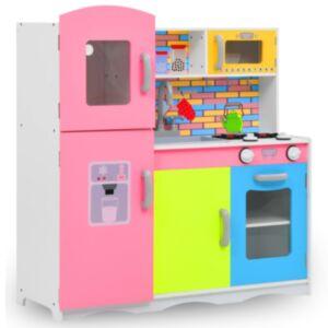 Pood24 laste mänguköök MDF 80 x 30 x 85 cm värviline
