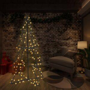 Pood24 koonusekujuline jõulupuu 240 LEDi, tuppa ja õue, 115 x 150 cm