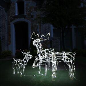 Pood24 jõulutuled põhjapõtradega 229 LEDiga