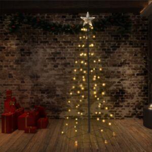 Pood24 koonusekujuline jõulupuu 96 LEDi, tuppa ja õue, 72 x 180 cm