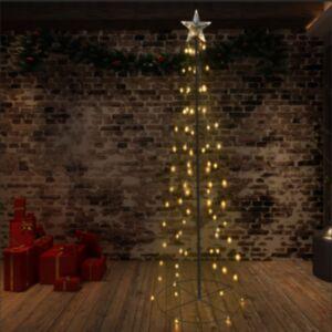 Pood24 koonusekujuline jõulupuu 140 LEDi, tuppa ja õue, 72 x 240 cm