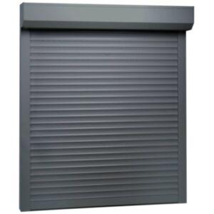 Pood24 fassaadiruloo alumiinium 100 x 120, antratsiithall