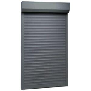 Pood24 fassaadiruloo alumiinium 100 x 210, antratsiithall