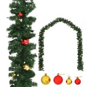 Pood24 jõuluvanik jõulukuulidega 5 m