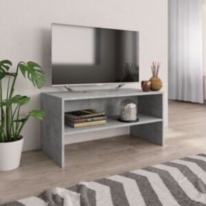 Pood24 telerikapp, betoonhall, 80 x 40 x 40 cm, puitlaastplaat