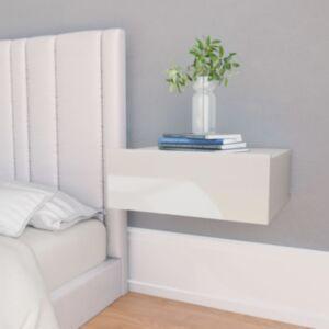 Pood24 seina öökapp kõrgläikega 40 x 30 x 15 cm puitlaastplaat