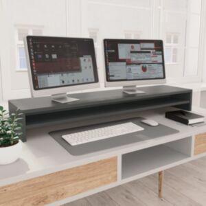 Pood24 monitorialus, hall, 100 x 24 x 13 cm, puitlaastplaat