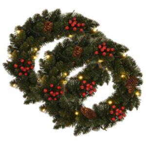 Pood24 jõuluvanikud 2 tk kaunistusega, roheline, 45 cm