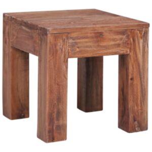 Pood24 kohvilaud, 30 x 30 x 30 cm, toekast taastatud puidust