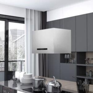 Pood24 rippuv köögisaare kubu puutetundlik LCD 55 cm roostevaba teras