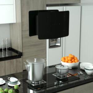 Pood24 rippuv köögisaare kubu puutetundlik LCD, karastatud klaas