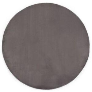 Pood24 vaip 80 cm, jänese kunstkarv, tumehall