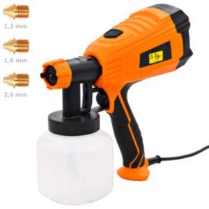 Pood24 elektriline värvipüstol 3 otsaku suurusega 500 W 800 ml