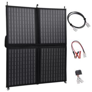 Pood24 kokkupandav päikesepaneeli laadija 80 W 12 V