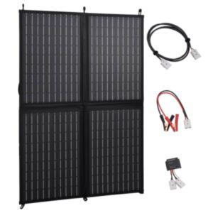 Pood24 kokkupandav päikesepaneeli laadija 100 W 12 V