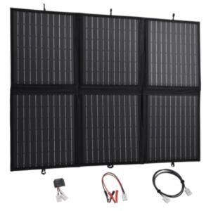 Pood24 kokkupandav päikesepaneeli laadija 120 W 12 V