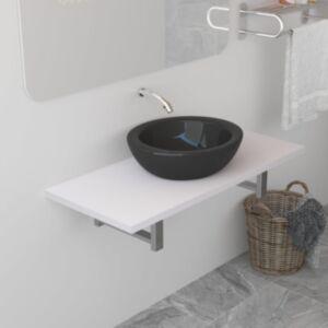 Pood24 vannitoamööbel, valge, 90 x 40 x 16,3 cm