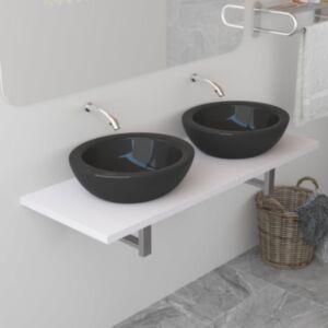Pood24 vannitoamööbel, valge, 120 x 40 x 16,3 cm