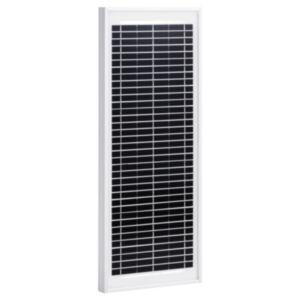 Pood24 päikesepaneel 10 W polükristalliline alumiinium ja turvaklaas