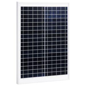 Pood24 päikesepaneel 20 W polükristalliline alumiinium ja turvaklaas