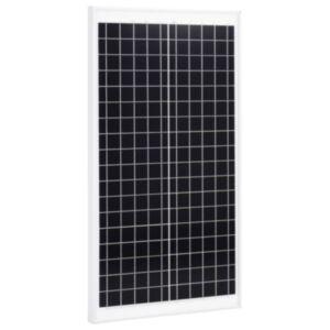 Pood24 päikesepaneel 30 W polükristalliline alumiinium ja turvaklaas