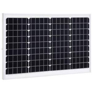 Pood24 päikesepaneel 40 W monokristalliline alumiinium ja turvaklaas