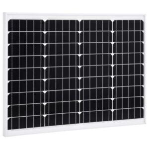 Pood24 päikesepaneel 50 W monokristalliline alumiinium ja turvaklaas