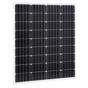 Pood24 päikesepaneel 80 W monokristalliline alumiinium ja turvaklaas