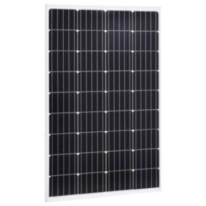 Pood24 päikesepaneel 120 W monokristalliline alumiinium ja turvaklaas