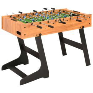 Pood24 kokkupandav lauajalgpalli laud 121 x 61 x 80 cm, helepruun