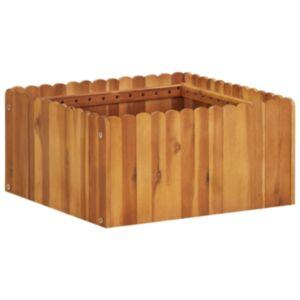 Pood24 taimekast 50 x 50 x 25 cm toekas akaatsiapuit