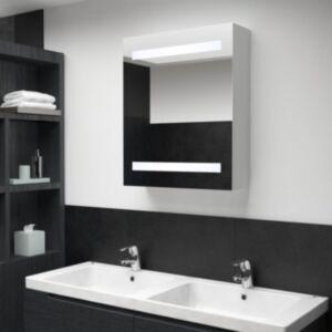 Pood24 LED-vannitoa peegelkapp, 50 x 14 x 60 cm