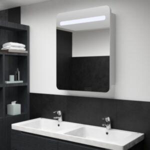 Pood24 LEDidega vannitoa peegelkapp, 60 x 11 x 80 cm