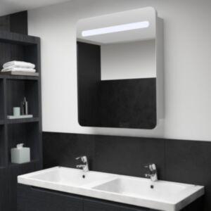 Pood24 LEDidega vannitoa peegelkapp, 68 x 11 x 80 cm