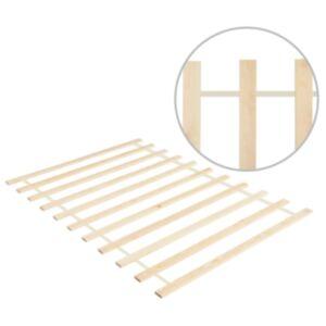 Pood24 lahtirullitav voodipõhi 11 liistuga, 120 x 200 cm, männipuit