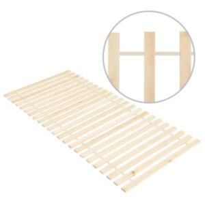 Pood24 lahtirullitav voodipõhi 23 liistuga, 80 x 200 cm, männipuit