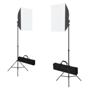 Pood24 professionaalsed stuudiotuled, 2 tk, 40 x 60 cm, teras, must