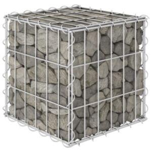 Pood24 kuubikukujuline gabioon-taimelava, teras 30 x 30 x 30 cm