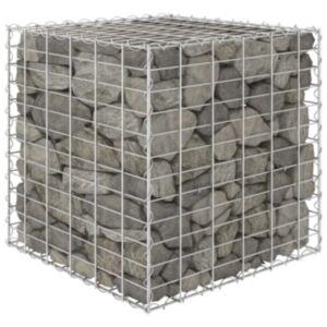 Pood24 kuubikukujuline gabioon-taimelava, teras 60 x 60 x 60 cm