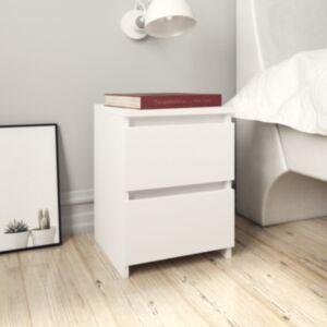 Pood24 öökapp, valge, 30 x 30 x 40 cm, puitlaastplaat
