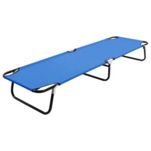 Pood24 kokkupandav lamamistool, sinine, teras