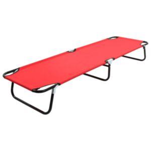 Pood24 kokkupandav lamamistool, punane, teras