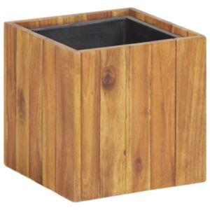 Pood24 taimekast 24,5 x 24,5 x 24,5 cm toekas akaatsiapuit