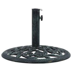 Pood24 päikesevarju alus, roheline, 9 kg 40 cm, malm