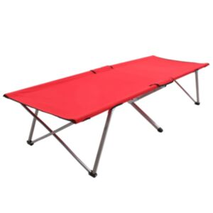 Pood24 matkavoodi 206 x 75 x 45 cm, XXL, punane