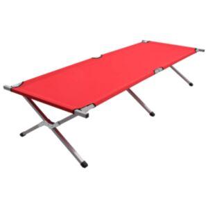 Pood24 matkavoodi 210 x 80 x 48 cm, XXL, punane