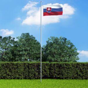 Pood24 Slovakkia lipp 90 x 150 cm