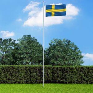 Pood24 Rootsi lipp 90 x 150 cm